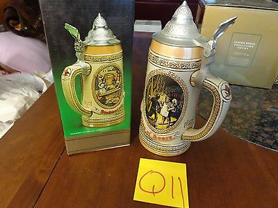 Anheuser-Busch Tomorrow's Treasures Beer Stein Limited Edition II Aging Scene