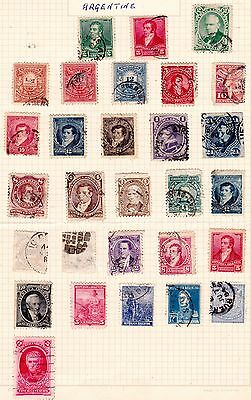 Argentina Stamps. 1877 Onwards Issues. Used. #2207