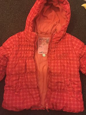 Next Puffa Jacket Girls 5-6 Years