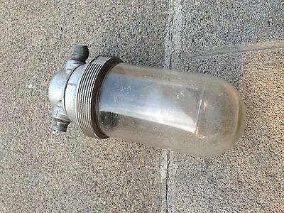 Vintage KILLARK Explosion Proof Light  VFC 200 Light Steampunk Wired-Industrial