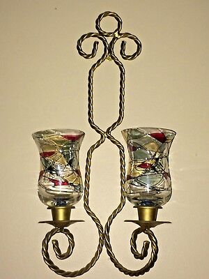 Partylite mosaic chandelier retired awesome 9999 picclick partylite mosaic sconces and candle holders retired design aloadofball Image collections