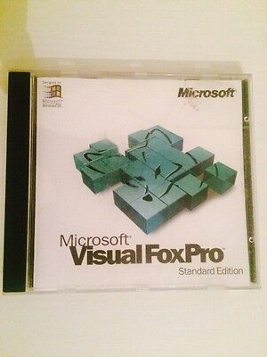 Microsoft Visual FoxPro Standard Edition Version 3.0 and Key Code