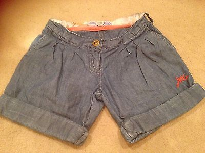 Joules Demin Shorts Age 4 Yrs