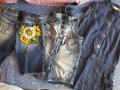 Kit in jeans due anni bimba