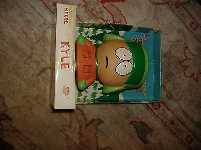 "Vintage South Park Kyle  Vinyl Figure 6"" MIB 1998 comedy cental"