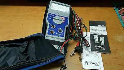 Tempo Sidekick 7B Meter Cable Tester 1134-5029 Gray/Blue Stress Test
