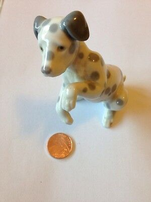 Vintage Lladro China Dog Ornament