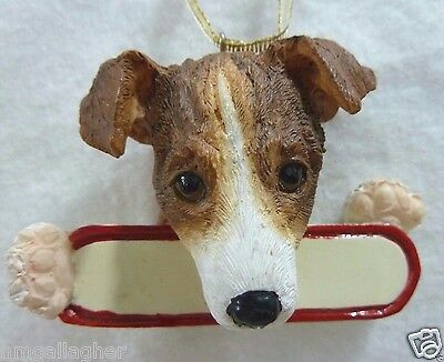 Jack Russell Dog Breed Ornament Christmas ~ NEW!