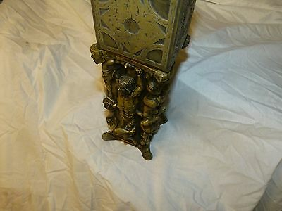 Hellraiser Puzzle Box With pillar of souls stand Movie Prop Replica Display.