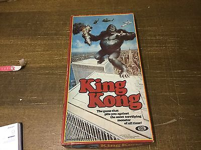 Complete 1976 KING KONG Vintage Board Game by Ideal - Very Rare -