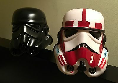 Star Wars Stormtroopers Helmets - 6 Inches - hand painted