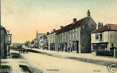 STAINDROP. Co  DURHAM. OLD POSTCARD