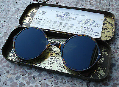 Willson Z1 Goggles Vintage Pilot Car  Motorcycle Steampunk Sunglasses