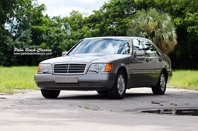 1992 Mercedes-Benz 500-Series  1992 Mercedes Benz 500SEL Euro Model 47,000 Miles