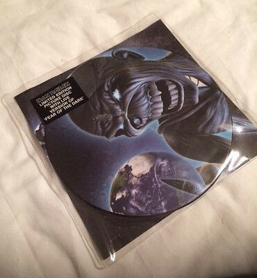Iron Maiden Limited picture disc 7 inch vinyl