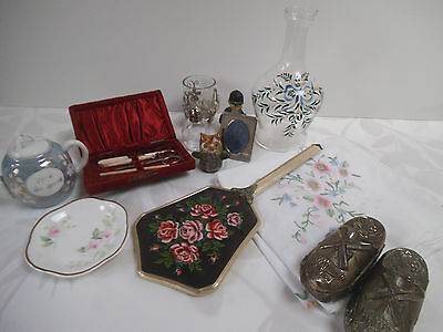 Job lot collection of antique/collectables – 12 items