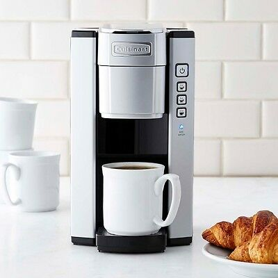 Cuisinart SS-5W One-Touch Single-Cup Keurig Coffeemaker -- Silver  **MSRP:119.99