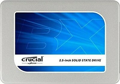 "Crucial BX200 Disque Flash SSD Interne 2,5"" 480 Go SATA III  782941584299"