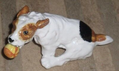 Royal Doulton Vintage Figure Of Jack Russell Hn 1097 Excellent Condition