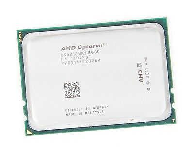 AMD OPTERON 6212 8-Core CPU 8x 2.8 GHz, 2x 8 MB L3, Socket G34 - OS6212WKT8GGU