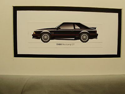 1988  Ford Mustang GT  From  50 Year Anniversary Exhibit by artist