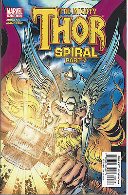 Mighty Thor #66/568 (Sept 2003) - Spiral part 7