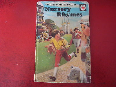 Ladybird Books - `the Second Book Of Nursery Rhymes` - Good Condition