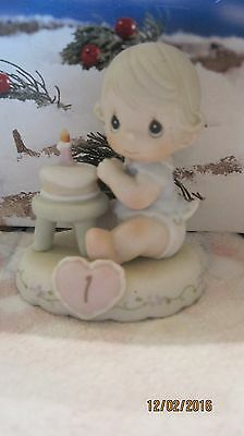 "Precious Moments Figurine 136190 ""Growing in Grace"" Age 1"