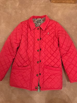 Girls Joules Pink Jacket Age 9-10