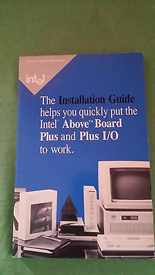 Installations Guide intel Above Board Plus and Plus I/O RARITÄT