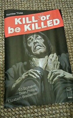 KILL OR BE KILLED # 3 (1st Print, SOLD OUT, OCT 2016), NM NEW (Bagged & Boarded)