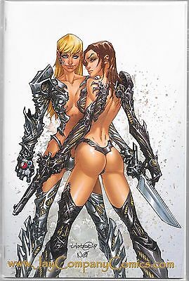 WITCHBLADE # 109 Jay Company White Virgin Variant 100 Limited Copies