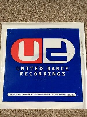 """Eruption Let The Music / All You ... (Remixes) 12"""" United Dance Recordings 1996"""