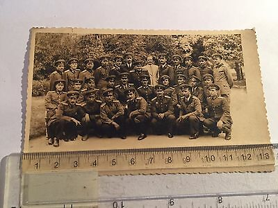 Old Postcard Of Bulgarian Soldiers  - A Regiment Of Some Sort - Cannot Date