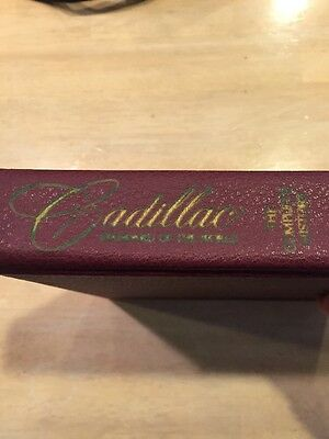 Cadillac, Standard Of The World, The Complete History book, 1977 Ed.