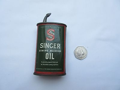 vintage Singer sewing machine little oil can