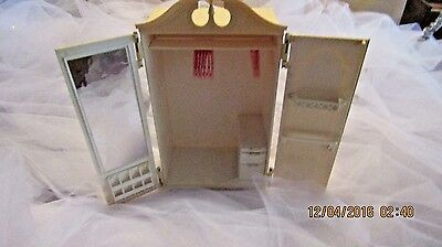 Vintage 1960's Barbie Suzy Goose Wardrobe Closet Armoire DOORS DRAWERS