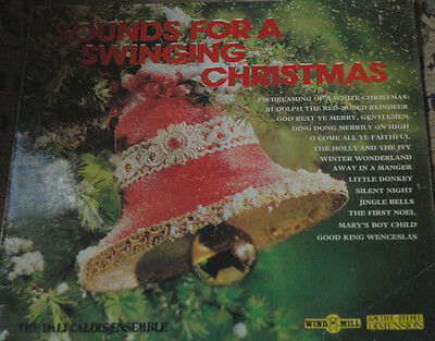 SOUNDS FOR A SWINGING CHRISTMAS LP! VINYL RECORD! WMD 211! CHARITY! b