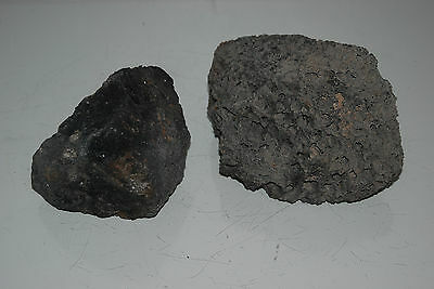 Natural Aquarium Black Lava Rock 2 Medium Pieces Suitable for All Aquariums A4