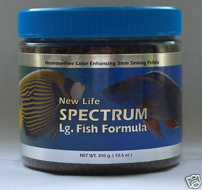 New Life Spectrum Large Fish Formula 300gms 3mm pellets Suitable For All Fish