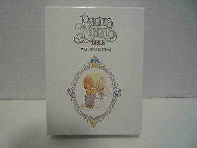 Holy Bible-Precious Moments Wedding Edition 1986 King James Version  NEW IN BOX