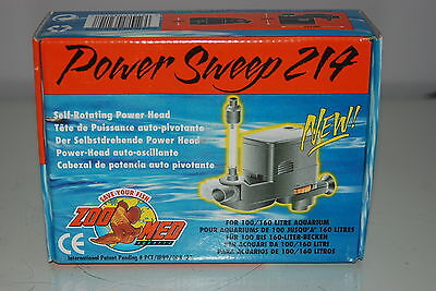 Aquarium Powerhead Power Sweep 214 500 Litres P/H Suitable for all Aquariums