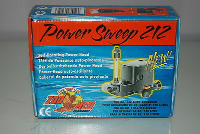 Aquarium Powerhead Power Sweep 212 400 Litres P/H Suitable for all Aquariums