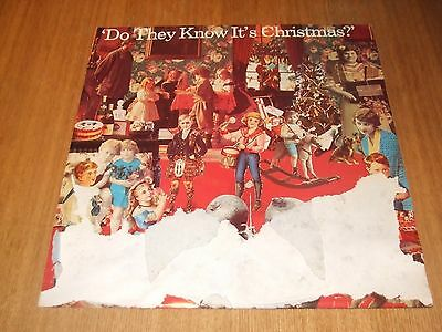 """Band Aid - Feed The World / Do They Know Its Christmas 12"""" Record"""