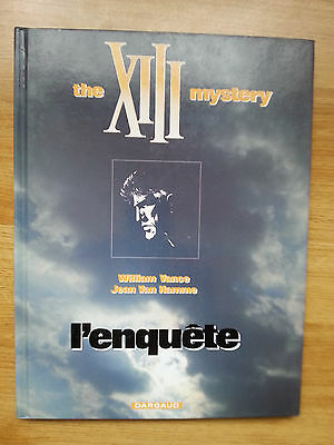 Xii - N°13 - The Xiii Mystery L'enquete - Red - 2005 - Tbe