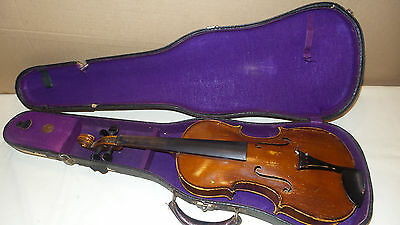 Vintage Fullsize violin,  Strad Model Made in Germany W/Case