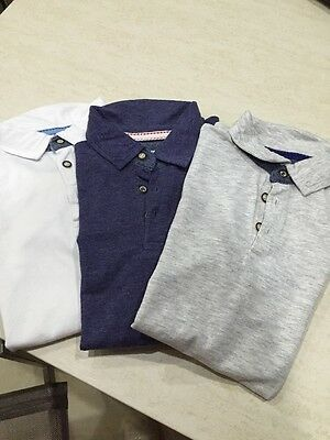 3 Boys Polo Shirts From River Island Age 5-6
