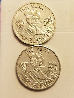 The Real McGregor You Can't Lose Token ~ Lot of 2 ~