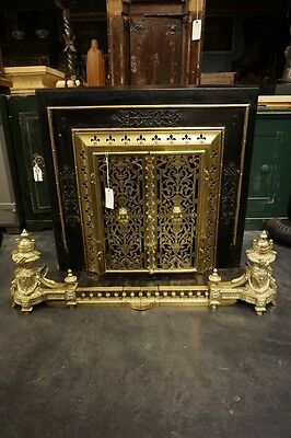 19 Century Antique French Empire Fireplace
