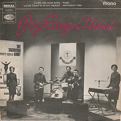 """Joy Strings abroad 4 Track 7"""" EP Regal Zonophone 1966"""